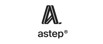 Astep - logo nero