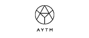 AYTM - logo nero