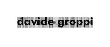 Davide Groppi - logo nero