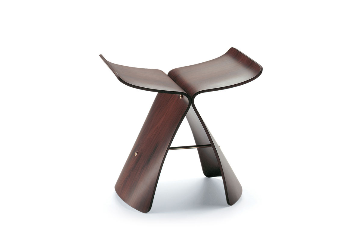 Vitra - Butterfly Stool designed by Sori Yanagi